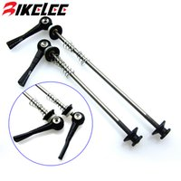 Wholesale Quick Release titanium Ti Skewers mm mm Road titane Bike MTB hub Mountain bicycle Cycling Lightest g pair