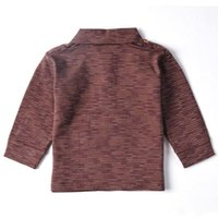 Wholesale Fashionable sweater popular sweater warm sweater cotton aweater new style brown Brief paragraph style