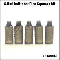 Wholesale E cigarette vape e juice bottles ml plastic bottle for eleaf istick Pico Squeeze coral atomizer e liquid PET Squonk bottle box
