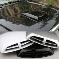air vent covers - Car Air Vent Simulation Universal Car Decoration Air Flow Intake Scoop Exterior Bonnet Vent Cover Hood
