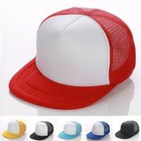 advertisement women - Advertisement Hat Adult Plain Mesh Snapback Hats Women and Men Hiphop Patch Pure Baseball Caps