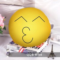 Wholesale Custom emoji cushion Home smile face pillow case Chair Seat Decorative Throw Pillow with core