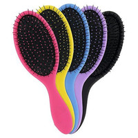 Wholesale Queen Styler Professional Detangling Tangle Shower Hair Brush HairBrushes for both dry wet hair Combs Colors FEDEX DHL