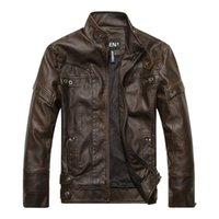 Wholesale Brand between male leather leather jackets and fleece jackets