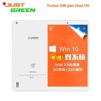Cheap 8inch 1280x800 Teclast X80 Plus Dual Boot Tablet PC Intel Cherry Trail Z8300 Quad Core 2GB 32GB 2MP HDMI OTG Window10&Android 5.1