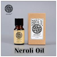Wholesale AKZRZ Famous Brand Pure Natural Neroli Oil Skin Whitening Moisturizing Anti Aging Fade Color Neroli Essential Oil Y034