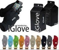 Wholesale DHL Multi purpose Unisex iGlove Capacitive Touch Screen Gloves For Unisex Warm Winter For iphone for ipad for smart phone pair B