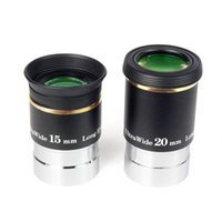 Wholesale Fully Multi Coated quot F15 F20 Ultra Wide Angle Degree Eyepiece Set for Telescope W2256A W2257A