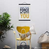 motivational posters - Modern Minimalist Hipster Kids Room Wall Art Motivational Typography Quote Star War A4 Large Poster Print Canvas Painting Gift
