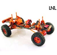 Wholesale LNL RC Crawler Alloy Chassis quot V2 D90 SCX10 Tamiya Land Rover RC4WD