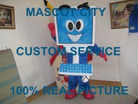 anime computer - Computer character mascot costume custom fancy costume anime cosply kits mascotte fancy dress carnival costume