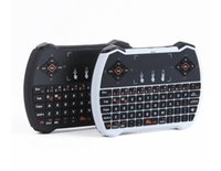 Wholesale V6A Mini Wireless Keyboard G with Touchpad Keyboard for MXQ Pro M8S S905 Android TV