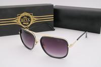Gafas de sol de gran tamaño de lujo de Dita 62245 Sunglass AAA de la vendimia Gafas de sol de lujo cuadradas de la marca de fábrica del diseñador de Vogue para el hombre con