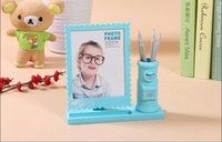 baby swing frame - 7 inch photo frame swing sets creative mailbox children s cartoon baby photo frame photo studio photo frame with multi function pen