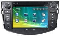 Wholesale 7 inch Car DVD player for toyota RAV4 Car Electronics with GPS BT CDC SD USB ATV RDS IPOD g SD Map Freeshipping