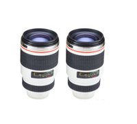 Wholesale Creative Leakproof Cup Creative Personality Canon Lens Cup Cup Thermal Stainless Steel Cup Camera Colors