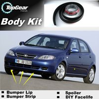 Wholesale Bumper Lip Lips For Daewoo Lacetti Nubira Gentra J200 Front Skirt Deflector Spoiler For Car Tuning The Stig Recommend Body Kit Strip