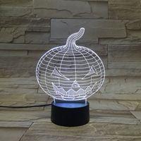 alternative control - Halloween Pumpkin D Control Led Night Light Alternative Color LED Desk Lamp Table Lamp Christmas gift