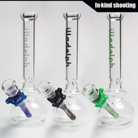 best glasses - 2015 New Best Quality glass bong quot Rasta water pipe oil rig mm joint headshop brand bongs glass pipes