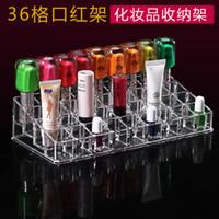 Wholesale Acrylic Lipsticks Nail Polish Botter Display Holder Organizer Cosmetic Storage Case