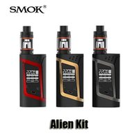 alien baby - 100 Original Smok Alien Kits VW TC W Box Mod ml Top Filling Adjustable Airflow TFV8 Baby Tank