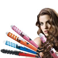 Wholesale Multifunction Thermostat Hair Curlers Electric Hair Stick Hair Care Styling Tools Ceramic Wave Hair Roller Magic Curling Iron