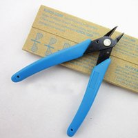 Wholesale 5 quot mm electric wire cutting pliers cutter shears diagonal side cutting pliers nippers blue