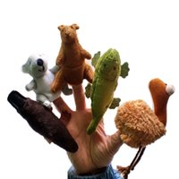 australian baby toys - styles cartoon Australian animals Finger Puppet Toy Finger Doll Baby Dolls Baby Toys Stories props
