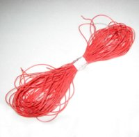 Wholesale 30AWG Red Soft Silicone Wire m bending resistant cold freeze resistant high temperature with EU ROHS and REACH Directive