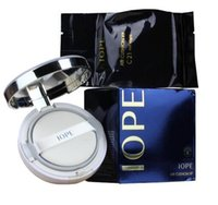 Wholesale IOPE Air Cushion XP BB Foundation Cream g SPF50 Whitening Moisturizing Concealer Cushion BB Cream C21 C23 N21 via DHL