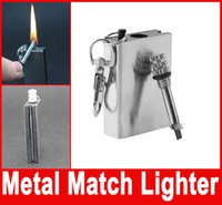 cookware - Flints Metal Match Fire Starter Flint Gas Oil Permanent Outdoor Camping Lighter for cooking Hiking Instant Survival Tool Safety Durable New