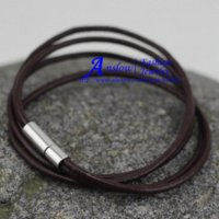 bead braclets - LOW0014LB Free Fast Shipping mm Leather Bracelet and Rope Bangles for Women Or Girls Fashion Man Braclets Unisex Jewelry