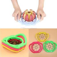 apple divider - Apple Cutter Cantaloupe Melon Slicer Stainless Steel Kitchen Fruit Divider E00352 FSH