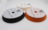 Wholesale 6 mm mm Rupess style foam solf puff polish foam pad compounding cutting pad polishing pad finishing pad