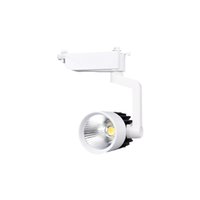 Wholesale COB W LED Track light AC110 V lm Track Lighting Retail Spot Wall Lamp Rail Spotlights Replace Halogen Lamps