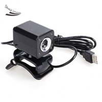 Wholesale 5 MP LED HD Webcam Web Camera MIC for Computer Black High Quality
