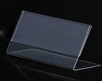 Wholesale FM0119 US Laying A4 Size Notice Pad Acrylic Display Rack L Rack cm g MOQ STOCK