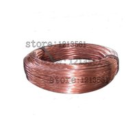 Cheap Wholesale-New 0.8mm 20 Gauge Soft Pure Solid Bare Copper Bright Wire Coil for Jewelry Crafts Making 20m or 40m DIY Natural Red Copper Wire
