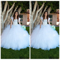beautiful quinceaneras dresses - 2016 White Beautiful Ball Gown Ruffles Quinceanera Dress Custom vestidos de quinceaneras New Fashion New Sweet Princess Dresses