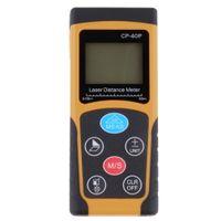 Wholesale CP P m precision Handheld Digital IR Laser Distance Meter Range Finder Diastimeter Hot Worldwide