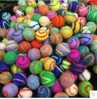 Wholesale 2016 New Nepal DIY Wool Felt Balls Heart Points Circles