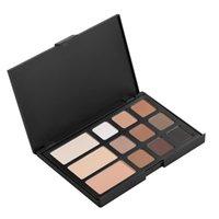 authentic makeup - 12 Color Eyebrow Powder Eye Shadow Authentic Makeup Eye Shadow Repair Capacity Eyebrow Cream Powder Dark