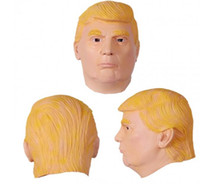 Wholesale personality funny Cosplay mask Theme Costume Hillary Clinton mask Cheap discount Trump mask new unisex us presidential election Costume mask