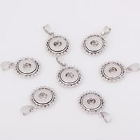 Wholesale 12mm Noosa Snap Button alloy charms Pendant for Necklace and bracelets DIY Ginger Snaps Jewelry Accessory A8017