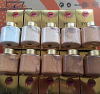 Wholesale 10pcs newest kylie face power kylie jenner makeup power kylie foundation power colors kylier loose power kylie xoxo banana powder