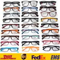 Wholesale DHL Cheap Style Women men Hot TR90 Stylish Personality Practical Vintage Round Lens Optical Sunglasses ZJ G06