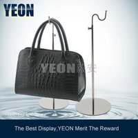 Wholesale YEON Stainless Steel Handbag Display Rack Women s Clutch Bag Hanger Bulk Order Available
