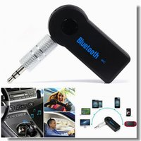 auto speaker boxes - Universal mm Car Bluetooth Audio Music receiver Adapter Auto AUX Streaming A2DP Kit for Speaker Headphone car charger in Retail box