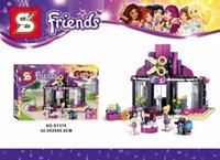 beauty salon toys - SY378 Friends Gril Pop Star Beauty Salon Minifigures Sheng Yuan Building Block Minifigure Toys