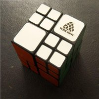 ai hot - WitEden AI Bandaged Plastic Magic Cube Black Hot Selling Educational Twisty Puzzle Toy for Children and Speedcubers